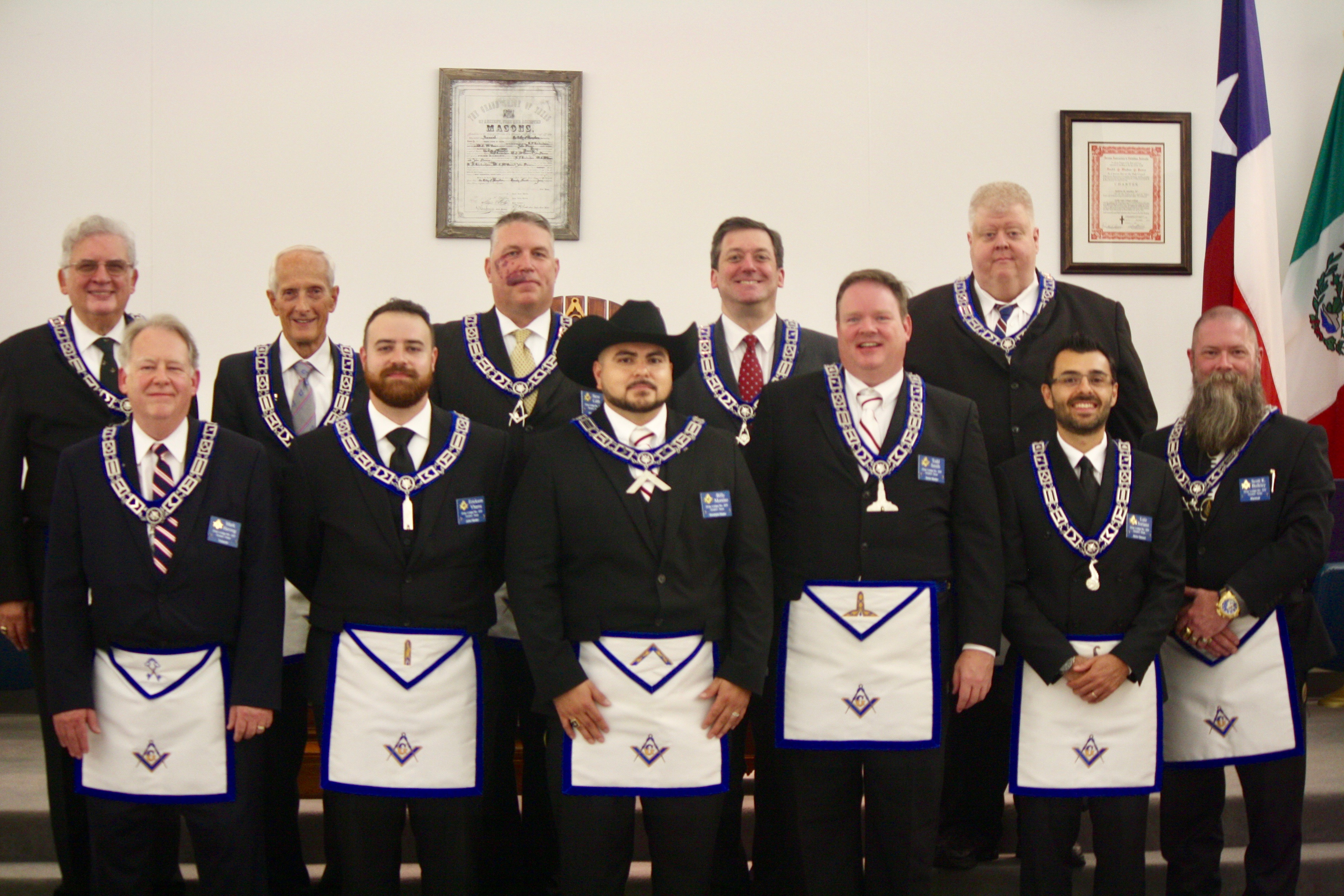 2019 Installation of Officers - Gray Masonic Lodge No  329
